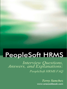 PeopleSoft HRMS Interview Questions, Answers, and Explanations