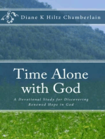 Time Alone With God:A Devotional Study for Discovering Renewed Hope in God