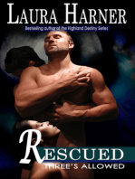 Rescued (Three's Allowed, Book 2)