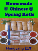 Homemade Chinese Spring Rolls