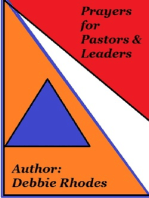 Prayers for Pastors & Leaders