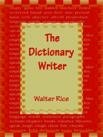 The Dictionary Writer