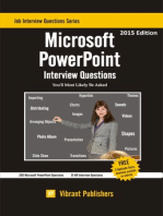 Microsoft PowerPoint Interview Questions You'll Most Likely Be Asked
