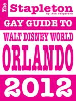 The Stapleton 2012 Gay Guide to Walt Disney World Orlando DISNEY WORLD ORLANDO