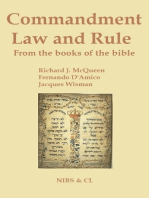 Commandment, Law and Rule