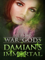 Damian's Immortal (War of Gods, Book 3)