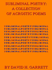 Subliminal Poetry: A Collection of Acrostic Poems