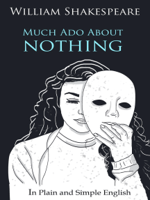 Read Much Ado About Nothing In Plain And Simple English A Modern Translation The Original Version Online By Bookcap Books Paraphrase Pdf Download