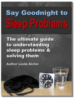Say Goodnight to Sleep Problems