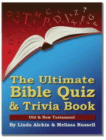 The Ultimate Bible Quiz and Trivia Book