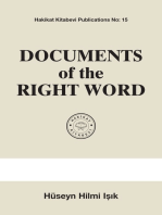 Documents of the Right Word