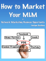 How to Market Your MLM or Network Marketing Business Opportunity