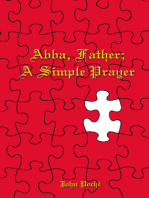 Abba Father; A Simple Prayer