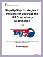 Step-by-Step Strategies to Prepare and Pass the IRS Compency Examination