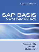 SAP Basis Configuration Frequently Asked Questions
