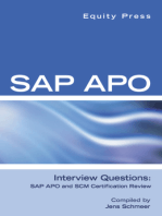 SAP APO Interview Questions, Answers, and Explanations: SAP APO Certification Review