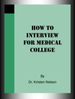 How to Interview for Medical College