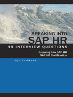Breaking In to SAP HR: Interview Questions, Answers and Explanations