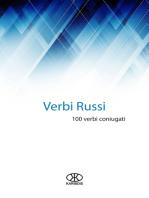Verbi russi (100 verbi coniugati)