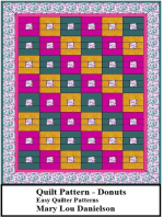 Donuts: Quilt Pattern