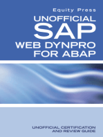 Unofficial SAP WebDynpro for ABAP