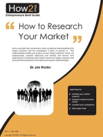 How to Research Your Market
