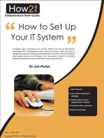 How to Set up Your I.T. System