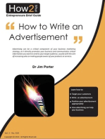 How to Write Your Advertisement
