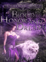 The Elder Blood Chronicles Book 2 Blood Honor and Dreams