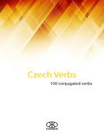 Czech Verbs (100 Conjugated Verbs)
