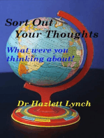 Sort Out Your Thoughts!