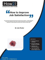 How to Improve Job Satisfaction