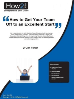 How to Get Your Team Off to an Excellent Start