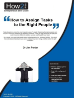 How to Assign Tasks to the Right People