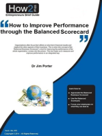 How to Improve Performance through the Balanced Scorecard