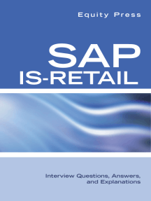 SAP IS-Retail Interview Questions, Answers, and Explanations