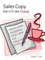Sales Copy that Sells like Crazy