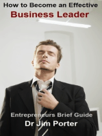How to Become an Effective Business Leader