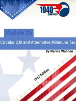 1040 Exam Prep Module XI