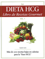 La Dieta HCG Libro de Recetas Gourmet