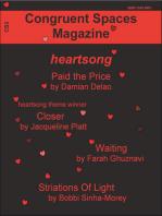 Congruent Spaces Magazine, Issue 3