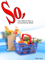 So, You want to run a convenience store