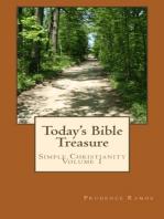 Today's Bible Treasure, Simple Christianity, Volume 1