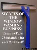 Secrets of the Window Washing Business