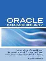 Oracle Database Security Interview Questions, Answers, and Explanations