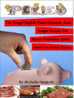 The Frugal English Paleo/Caveman Cook