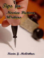 Tips for Novice Fiction Writers