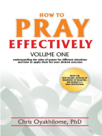 How to Pray Effectively Volume One