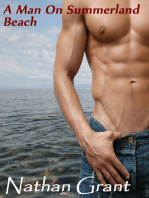 A Man on Summerland Beach