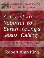 A Christian Rebuttal to Sarah Young's Jesus Calling